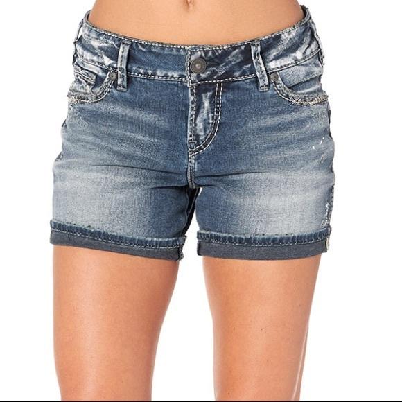633527c66b Silver Jeans Shorts | Silver Elyse Short W31 L4 Like New | Poshmark